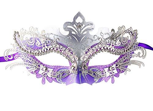 Coxeer Pretty Elegant Masquerade Halloween