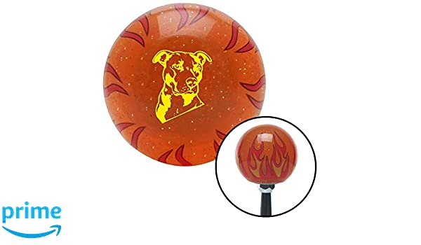 Pink Angry Meme American Shifter 245791 Blue Flame Metal Flake Shift Knob with M16 x 1.5 Insert
