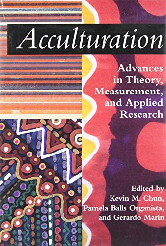 Acculturation: Advances in Theory, Measurement, and Applied Research (Decade of Behavior)