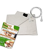 Earthing Sheet with Grounding Connection Cord ,Conductive Grounding Mat for Better SleepNatural Wellness, Earthing Grounding Mat 60*80 inches fits Full Queen and King Size Beds, Safe for Kids and Adults, A New Lifestyle Recommend (Earthing sheet 76*80 IN)