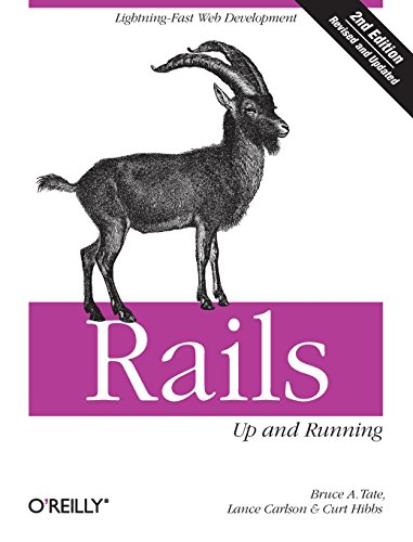 Rails: Up and Running: Lightning-Fast Web Development