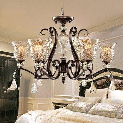 TYDXSD Lampadario classico vintage soggiorno studio lampadari in ...
