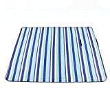 donfohy Outdoor moisture picnic mats beach mats picnic tent camping mats thicker aluminum on the back of increased water temperature compartment