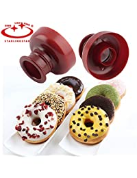 CheckOut 1 Piece Donut Maker Plastic Donut Maker Mold Fondant Cake Bread Desserts Bakery Mould Cake Decorating Tools DIY... deal