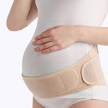 Maternity Belt Pregnancy Support Belly Band Soft Breathable Adjustable Elastic Back and Sash Support Belt
