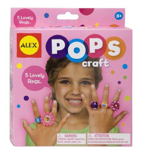 ALEX Toys POPS Craft 5 Lovely Rings