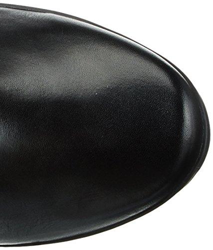 Caprice  25526, Botas Altas con Tacón para Mujer Negro (Black Comb 19)