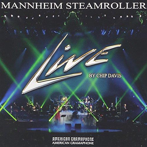 Mannheim Steamroller Live CD+2 BONUS Tracks 2015 TARGET EXCLUSIVE (Live Steamroller Christmas Mannheim)