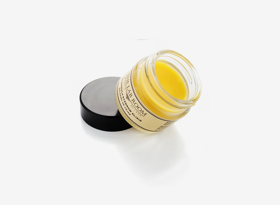 The Lab Room Calendula Eyebrow Elixir Bálsamo de Cejas - 15 ml: Amazon.es: Belleza