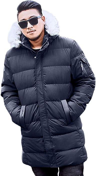 Winwintom Invierno para Hombre Hoodie Coat, Invierno Chaqueta ...
