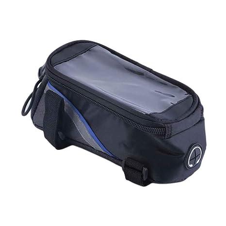 GJZhuan Bolsa De Pantalla Táctil para Bicicletas, 4.8