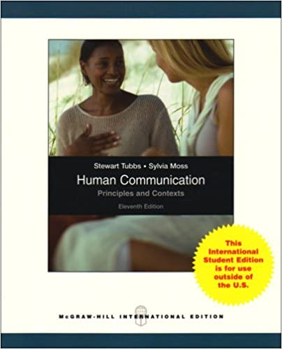 Human communication principles and contexts 11th edition | ebay.