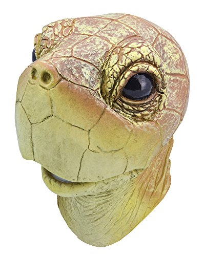 Bristol Novelty BM448 Turtle Mask, One Size -