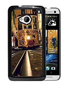 City Tramway Durable High Quality HTC ONE M7 Phone Case