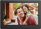 NIX X08G Advance 8' Widescreen Hi-Res Digital Photo & HD Video Frame with Hu-Motion Sensor, Black