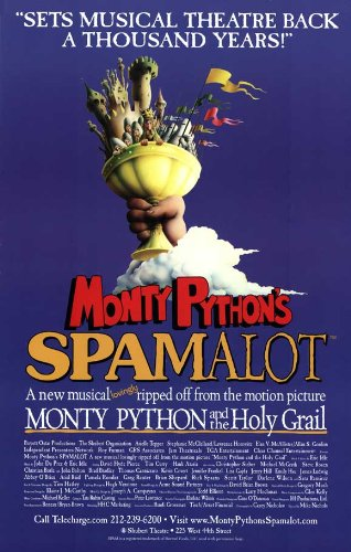Spamalot Poster Broadway Theater Play 11x17 MasterPoster Print