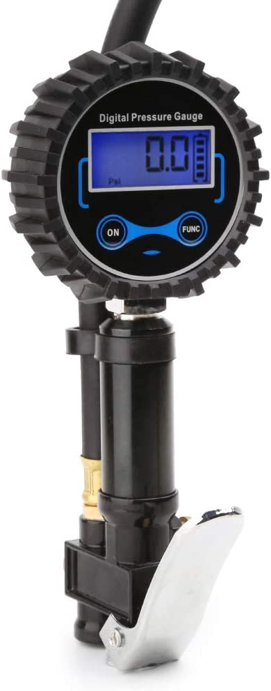 Mini LCD Electronic Tire Manometer Barometers Tester Tool For Car Motorcycle Security Geoco Digital Tyre Pressure Gauge