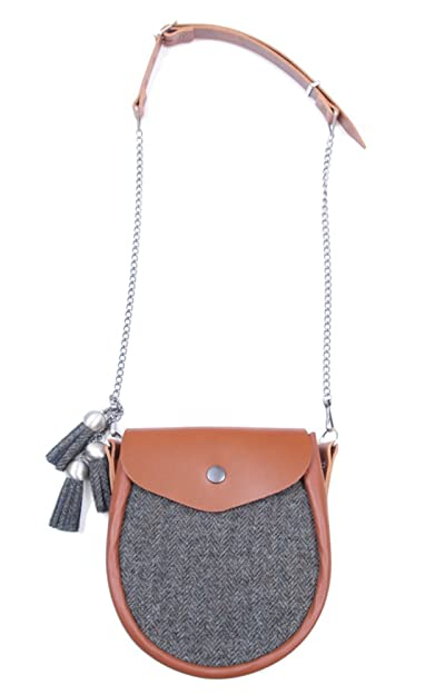 072eab8e97 Ladies Tweed Sporran Shoulder Bag - Made in Scotland  Amazon.co.uk  Shoes    Bags