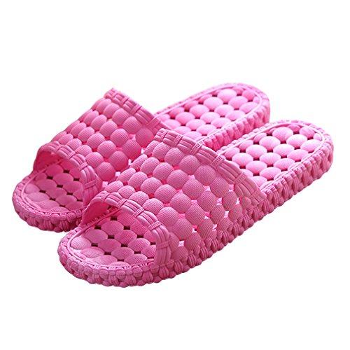 Ciabatta Da Bagno Da Bagno Da Bagno Interna Doccia Bininbox, Sandalo Scorrevole Rosso Sandalo A Bordo Piscina