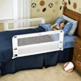 Regalo Baby 6010HD Hide Away Double Sided Bed Rail (White)