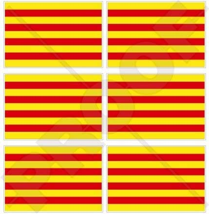 Cataluña Bandera de Cataluña España Español 40 mm (1,6