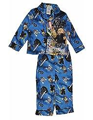 Lego Star Wars Boys Blue Flannel Pajamas