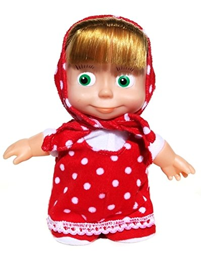 Russian Doll Walking And Talking Masha - Voice Activated Interactive Girls Kids Masha and Bear Toy (Talking Plastic Doll)