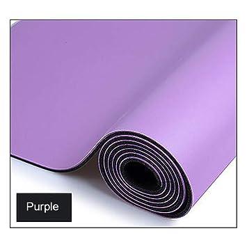 LIYUEJING PU Yoga Mat Antideslizante Fitness, Pilates Yoga ...