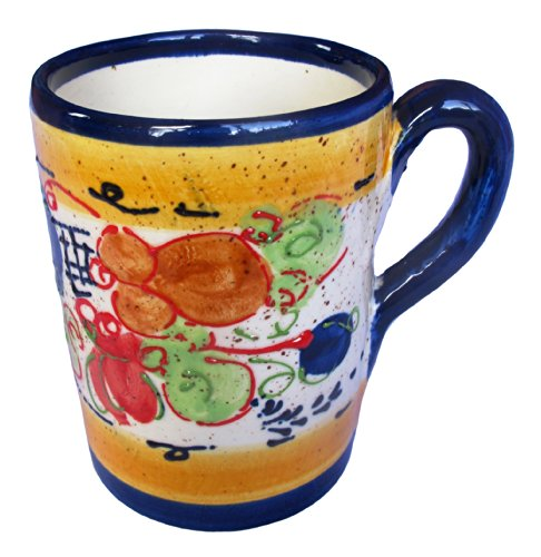 Coffee Mug (Splash Design) - Hand Painted in Andalucia, Spain by Cactus Canyon Ceramics