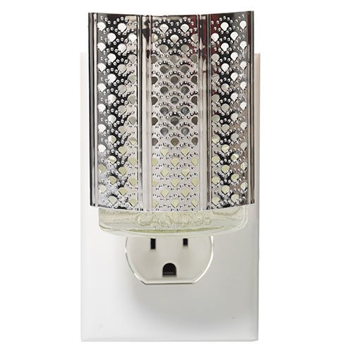 Yankee Candle Moroccan Lantern Silver - Night Light Scent-Plug Air Freshener Base