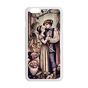 Happy Snow White and the Seven Dwarfs Case Cover For iPhone 6 Plus Case