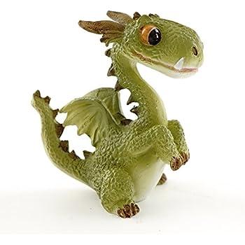 top collection 4412 miniature fairy garden terrarium mini dragon statue small