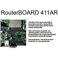 Mikrotik RB411AR 300MHz, 64MB RAM, 1 LAN, 1 miniPCI, 2.4GHz wireless card, RouterOS L4