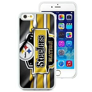 Great Quality iPhone 6 4.7 Inch TPU Case ,Beautiful And Unique Designed Case With Pittsburgh Steelers 29 White iPhone 6 Cover Phone Case