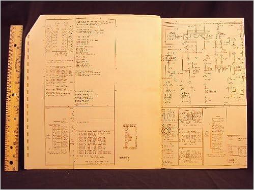 1977 77 lincoln mark v electrical wiring diagrams manual ~original: ford  motor company: amazon com: books