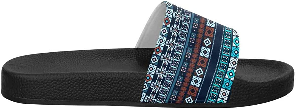 INTERESTPRINT Womens Slide Sandals Water Shoes for Beach and Pool US6~US12