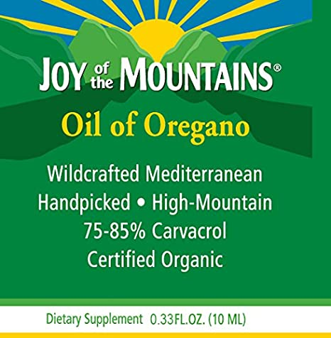 Amazon.com: Oregano Oil (100% Certified Organic) - 0.33 Oz / 10ml ...