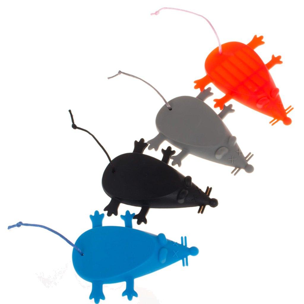 Fenteer 2 Pezzi Fermaporta Animale Modello Terra Protettivo per Cucina Casa