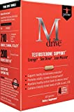 Mdrive Prime Testosterone Support with DHEA, KSM-66 Ashwagandha and LJ100 Tongkat Ali, 60 Capsules