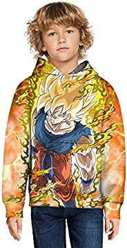 diqiuzhiyan Preston Fire Nation Playz Gamer Flame Hoodie for Boys Girls 3D Print Sweatshirts for Kids…