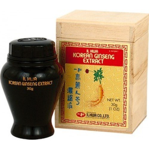 Pure Ginseng Tea Concentrated - Ilhwa Pure Concentrated Ginseng Tea Contains 1 Bottle 1oz (30g) 60servings