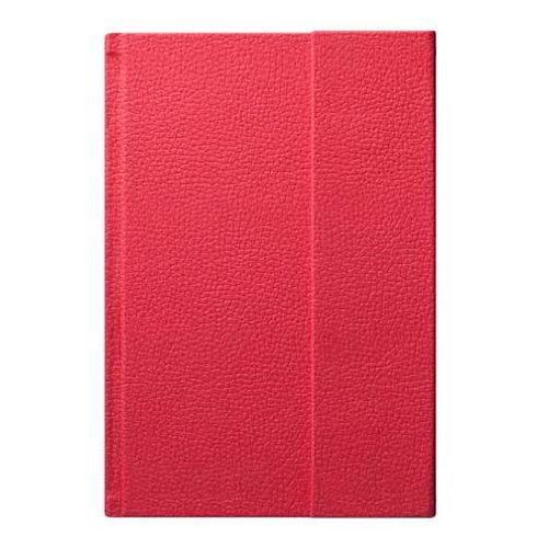 Eccolo World Traveler World Jazz Flap Journal, Red, 6 x 8 Inches (Magnetic Flap Journal)