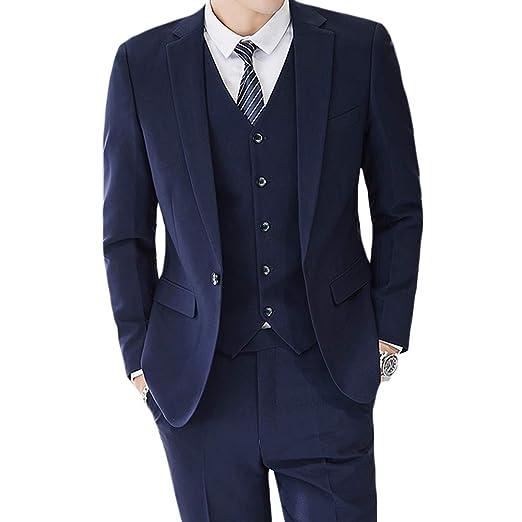 13f292a98fa7 Men WEEN CHARM Mens Suits 2 Button Slim Fit 3 Pieces Suit