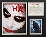 The Dark Knight - The Joker 11'' X 14'' Unframed Matted Photo Collage By Legends Never Die, Inc.