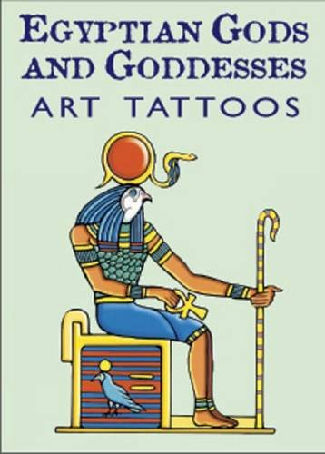 Temporary Five Tattoos - Egyptian Gods and Goddesses Art Tattoos (Dover Tattoos)