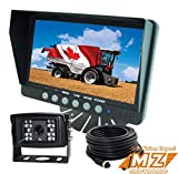 "7"" Digital Rear View Backup Reverse Camera System Vehicle Cctv Camera Observation Video System for Skid Steer, Motorhome, Farm Tractor"