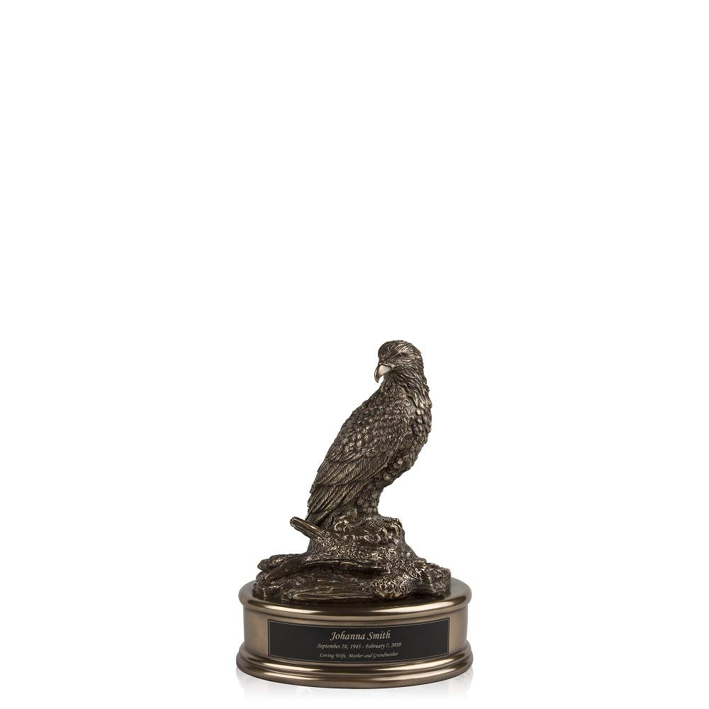 Perfect Memorials Custom Engraved Small Grand Eagle Cremation Urn by Perfect Memorials