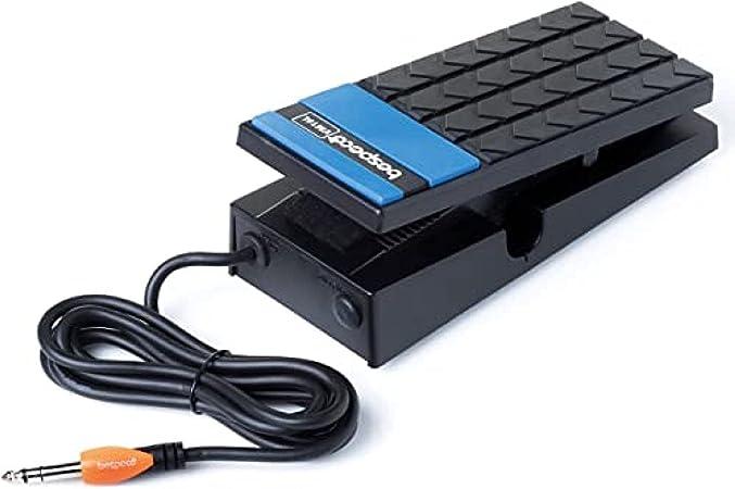 Bespeco VM16L - Pedal para teclado electrónico, color negro