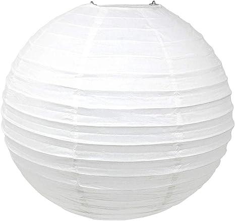 "White Chinese//Japanese Paper Lantern//Lamp 8/"" Diameter"