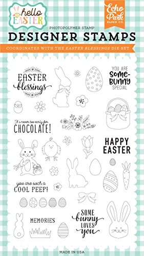 Echo Park Paper Company Easter Blessings Stamp